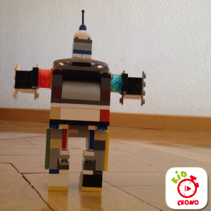 lego robot Kid crono